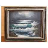 Solovey oil on canvas ocean scene