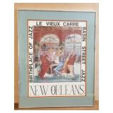 George Luttrell New Orleans Jazz print