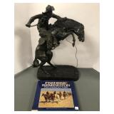 Frederic Remington reproduction bronze sculpture