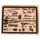 Large grouping of unset stones