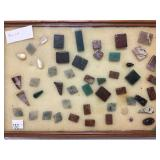 Grouping of polished stones