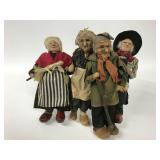 2 Ravca Country People Dolls
