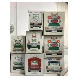 8 Boxed Hess Trucks