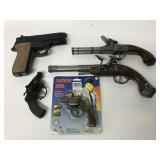 5 Cap gun lot