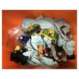 Miscellaneous toy car lot