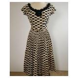 1950s Herbert Sondheim shirtwaist dress