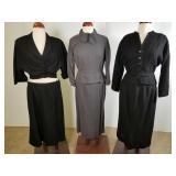 Three vintage suits, Hannah Troy, etc