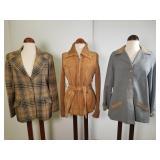 Three 1960s jackets
