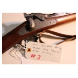 "1873 U.S. Springfield Model 1873 ""trap door"" rifle 40-70"