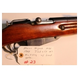 Russian M44 Mosin Nagant 1948 7.62 x 54 #s matching with fixed bayonet spike