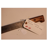 English Sheffield Machette Wood handle