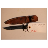 Utica Sportsman Knife with sheath