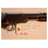Winchester Model 90 .22 Long pump repeater great shape