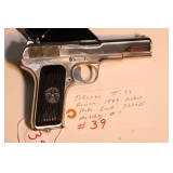 Tokarev TT-33 Russian 1949 nickel plate finish 7.62 x 25