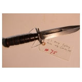 U.S. Navy fighting knife mfg.  Camillus, NY