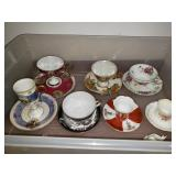 Box of Cups & Saucers