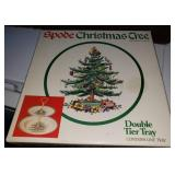 Spode Tiered Christmas Tray