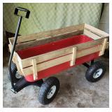Bigfoot Red Panel Wagon