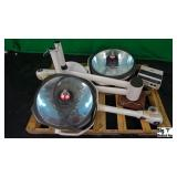 Amsco SQ240 Lot of (2) Surgical Lights with Ceilin