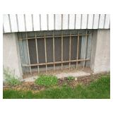 Iron Window Grates