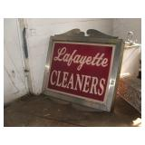 Lafayette Cleaners Sign *******
