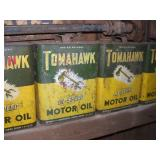Tomahawk Motor Oil Cans