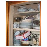 Cupboard Full of China Dinnerware