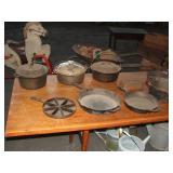 Cast Iron Pots & Pans