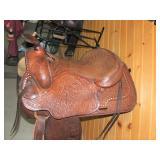 2 Western Saddles