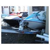 2 Polaris Jet Skis