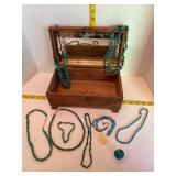 Turquoise jewelry & Jewelry Box
