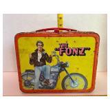 1976 The Fonz Happy Days Metal Lunchbox