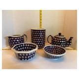 Boleslawiec Pottery Lot