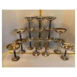 Made in Spain Silver-Plated Goblets & Candle Stix