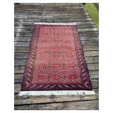 Wool Hand knotted India Rug