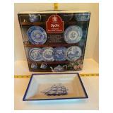 The Spode Blue Room Collection & Spode Ship