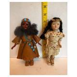 Vintage Native American Dolls