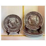 Spode Georgian Series Decorative Plates