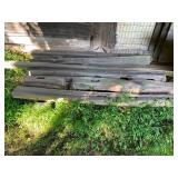 Split Rail Fence Posts