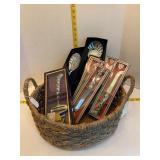 Basket of Decorative Flatware/Utensils