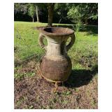 Large Outdoor Flower Pot & Stand