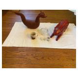Decorative Rabbits & Sea Eurchant