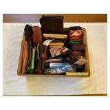 Crate of Wallets & Change Purses
