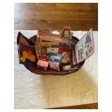 Vintage Toys & Basket