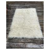 White Wool Flokati Made in Greece
