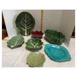 Leafy Plates & Bowls