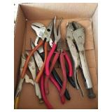 Pliers and Vise Grip lot