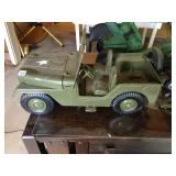 Army Jeep Toy Lot