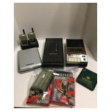 Cassette Recorder/Tapes/Walkie Talkies & More