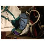 Canvas Bags and more Bags Box Lot